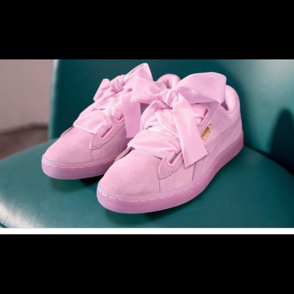 Puma Shoes | Puma Bow Tie Tennis Shoes